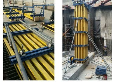 Professional Concrete Column Formwork System With H20 Timber Beam And Plywood