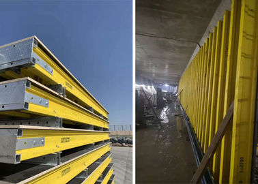 Light Weight Steel Shuttering Plates , Concrete Wall Forming Systems