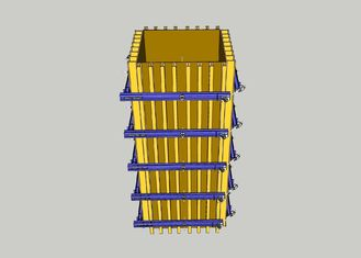 Professional Steel Column Formwork System With Longer Working Life